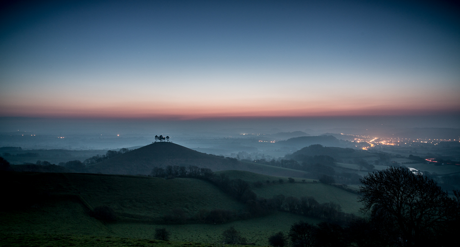 Colmer Hill at Dawn